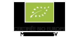 Organic EUROPEAN CERTIFIED